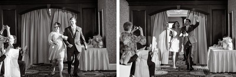 bridesmaids with groomsmen