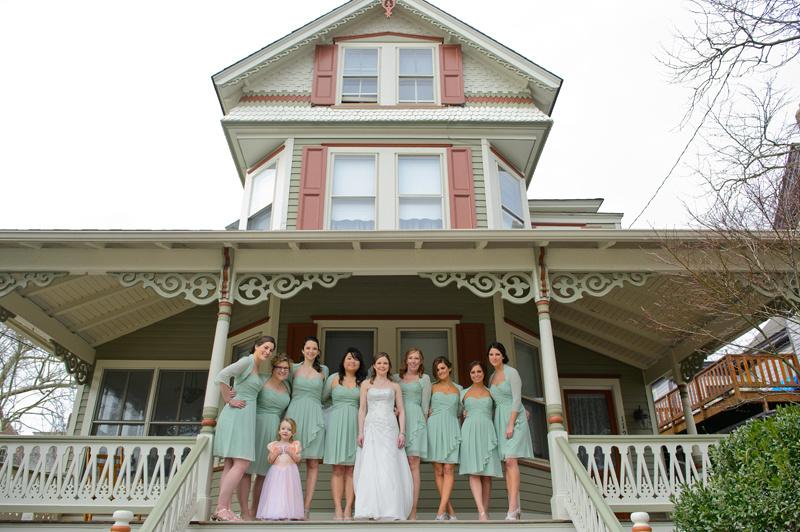 wedding bride party